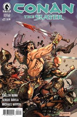 Conan The Slayer (Comic-book) #2