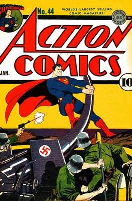 Action Comics Vol. 1 (1938-2011; 2016-) (Comic Book) #44