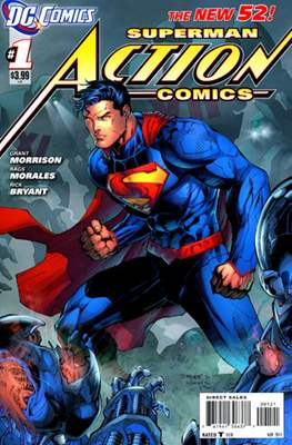 Action Comics (Vol. 2 2011-2016 Variant Covers) (Comic Book) #1.1