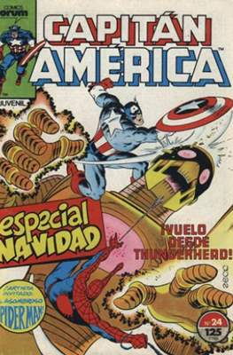 Capitán América Vol. 1 / Marvel Two-in-one: Capitán America & Thor Vol. 1 (1985-1992) (Grapa 32-64 pp) #24