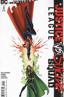 Justice League vs Suicide Squad. Variant Covers (Comic Book) #2