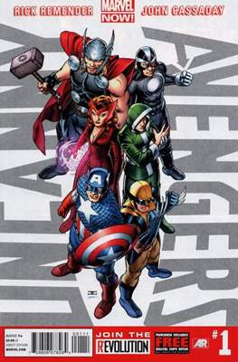 Uncanny Avengers Vol. 1 (2012-2014) (Comic Book) #1