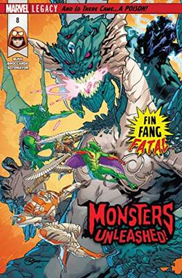 Monsters Unleashed (2017-...) (Comic-book) #8