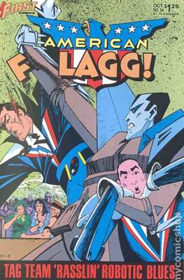 American Flagg! (Comic book) #34