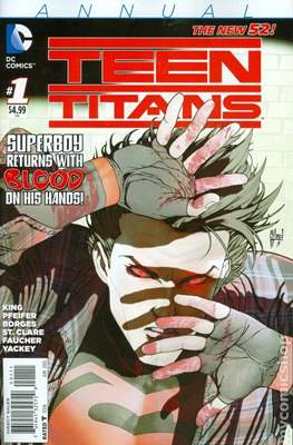 Teen Titans Vol. 5 Annual (2014-2016) (Comic-book) #1