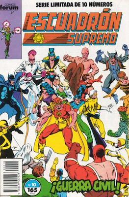 Escuadrón Supremo (1990) (Grapa. 17x26. 32 páginas. Color) #10