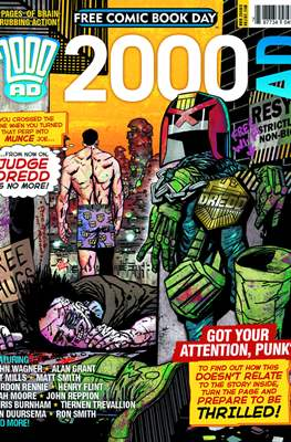 2000 AD - Free Comic Book Day -