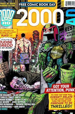 2000 AD - Free Comic Book Day 2014