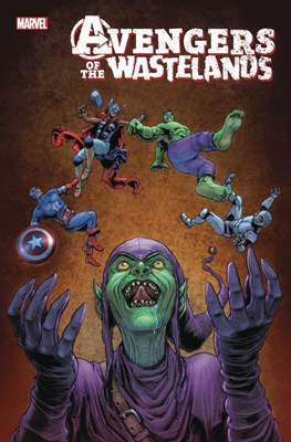 Avengers of the Wastelands (Comic Book) #4