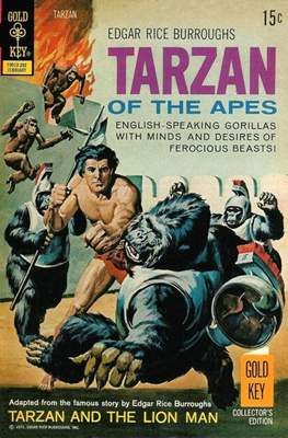 Tarzan (Comic-book) #206