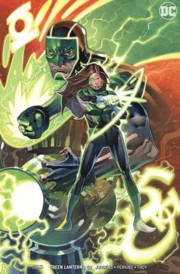 Green Lanterns (Vol. 1 2016-... Variant Covers) #50
