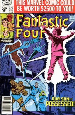 Fantastic Four Vol. 1 (1961-1996) (saddle-stitched) #222