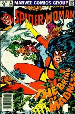 Spider-Woman (Vol. 1 1978-1983) (Comic Book) #35