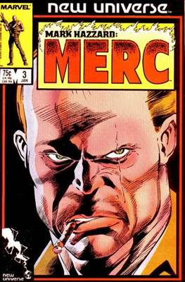 Mark Hazzard Merc (Comic-book.) #3