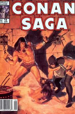 Conan Saga (Comic-book) #14