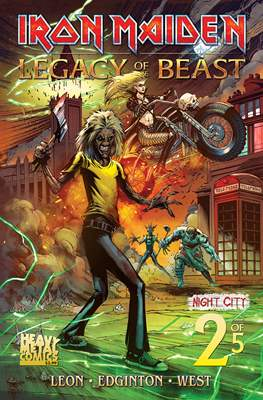 Iron Maiden: Legacy of the Beast - Night City (Comic Book) #2