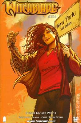 Witchblade (Variant Cover) (Comic Book) #184
