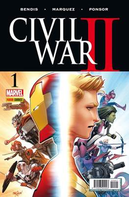 Civil War II (Portadas alternativas) #1.4