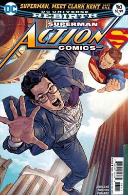 Action Comics Vol. 1 (1938-2011; 2016-) (Comic Book) #963