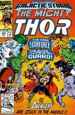 Journey into Mystery / Thor Vol 1 (Comic Book) #446