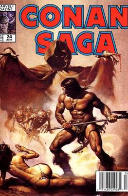 Conan Saga (Comic-book) #24