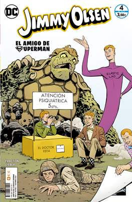 Jimmy Olsen: El amigo de Superman (Grapa) #4