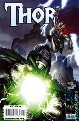 Thor / Journey into Mystery Vol. 3 (2007-2013) (Comic-Book) #605