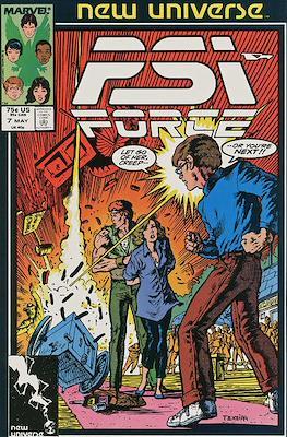 Psi-Force Vol 1 (Comic-book.) #7