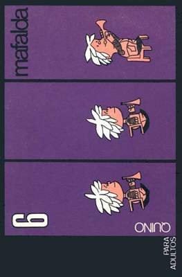 Mafalda (Rústica. Edición 1970) #6