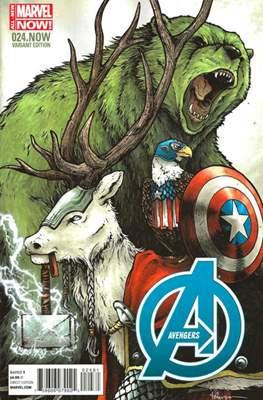 Avengers Vol. 5 (2013-2015 Variant Covers) (Comic Book) #24.1