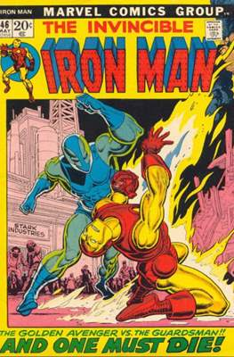 Iron Man Vol. 1 (1968-1996) (Comic book) #46