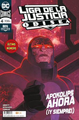 Liga de la Justicia: Odisea (Rústica 128-176 pp) #4