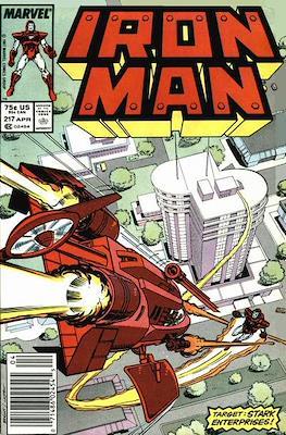 Iron Man Vol. 1 (1968-1996) (Comic book) #217