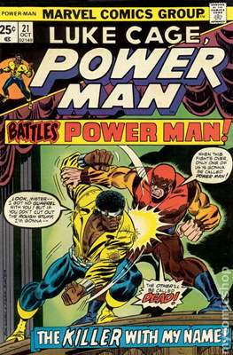 Hero for Hire / Power Man Vol 1 / Power Man and Iron Fist Vol 1 (Comic Book) #21