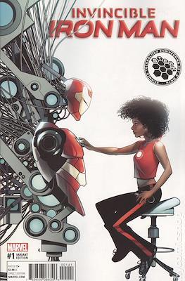 Invincible Iron Man (Vol. 3 2017-2018 Variant Cover) #1.1