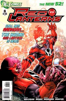 Red Lanterns (2011 - 2015) New 52 #6