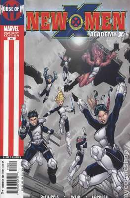 New X-Men: Academy X / New X-Men Vol. 2 (Variant Cover)