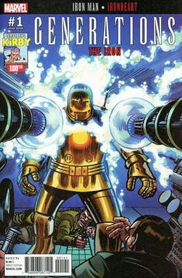 Generations - The Iron Iron Man and Ironheart (Variant Cover) #1.2