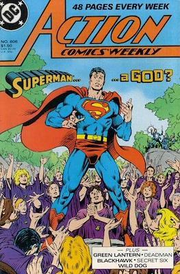 Action Comics Vol. 1 (1938-2011; 2016-) (Comic Book) #606