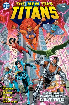 The New Teen Titans (Softcover) #10