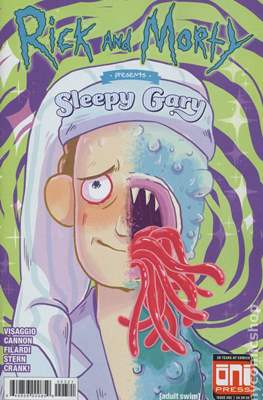 Rick And Morty presents Sleepy Gary (Variant Covers) #1.1