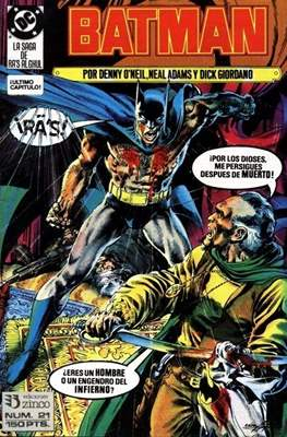 Batman (1987-1993) (Grapa) #21
