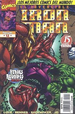 Heroes Reborn: Iron Man (1997-1998) (Grapa 24 pp) #12