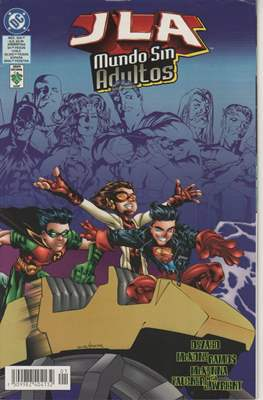 JLA: Mundo sin adultos (Grapa) #2