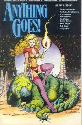 Anything Goes! (Comic Book. 1986 - 1987) #4