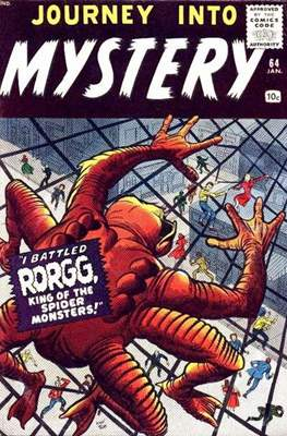 Journey into Mystery / Thor Vol 1 (Comic Book) #64