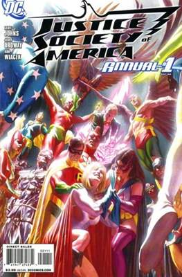 Justice Society of America Vol. 3 Annual (2008-2010) (Comic Book) #1