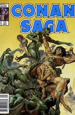 Conan Saga (Comic-book) #17