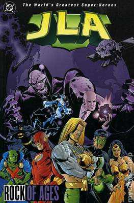 JLA Vol. 1 (1997-2006 Variant Cover) (Softcover) #3