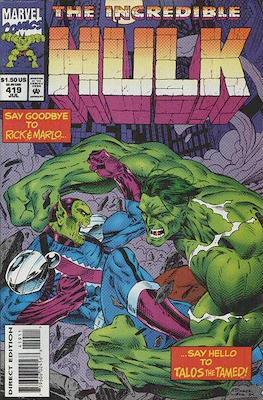 The Incredible Hulk Vol.1 (Saddle-stitched. 1962-1999) #419